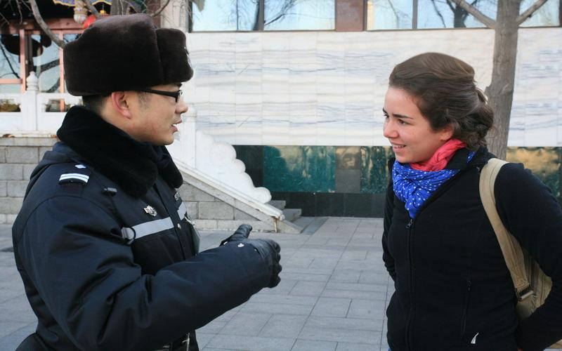 两会人的一天:天安门广场巡警顾超的22个小
