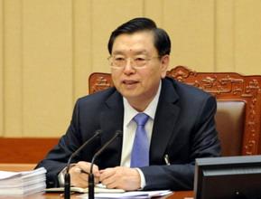 张德江委员长主持全体会议