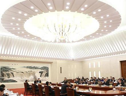 10月19日,第五十五次委员长会议举行