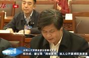 """郑功成:建议将""""网络募捐""""加入公开募捐标准渠道"""