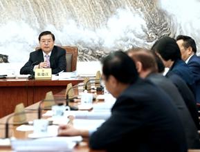 张德江主持召开第五十八次委员长会议