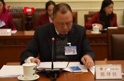 陈泽民代表:不应限定家暴报案者为受害者或亲属