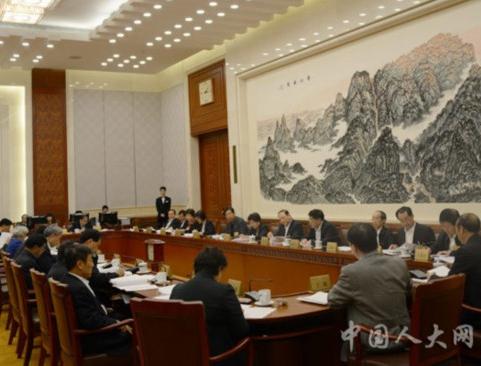 4月25日,常委会第二十次会议举行分组会