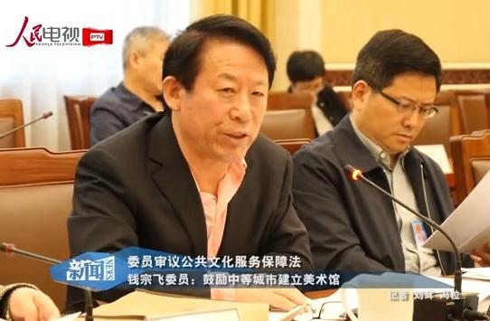 钱宗飞委员:鼓励中等城市建立美术馆