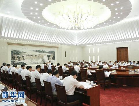 张德江主持召开第七十三次委员长会议