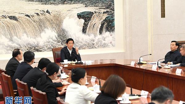 栗战书同代表座谈:尊重代表服务代表接受代表监督